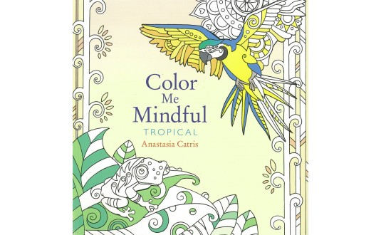Color Me Mindful Book - Tropical