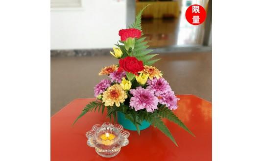 Ullambana Offering to Ksitigarbha Bodhisattva 盂兰盆节供奉地藏菩萨 @ Pu An Columbaria 普安塔