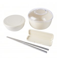 Eco-Friendly Bowls and Chopstick Set 环保碗筷套装