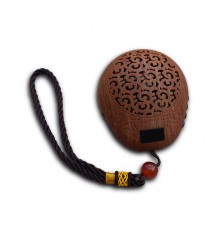 Muyu 35 in 1 Buddhist Chanting Player - Brown 一心木鱼35合1念佛机 - 褐