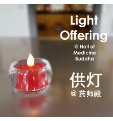 LED Light Offering 供LED灯 @ Hall of Medicine Buddha 药师殿